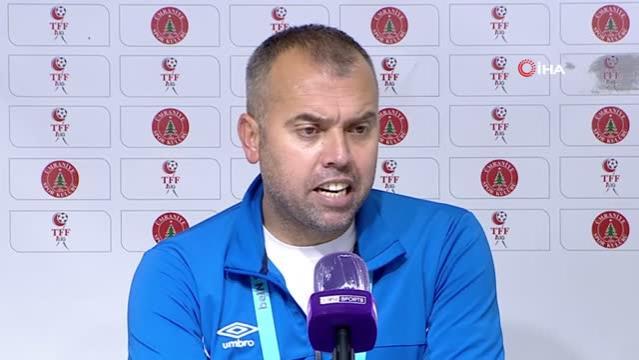 Şaban Özdeş: Golü yedikten sonra hemen gol bulmamız direncimizi arttırdı