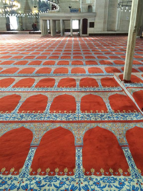 Desenli Cami Halısı